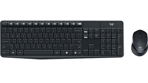 Logitech MK315 Quiet Wireless Keyboard and Mouse